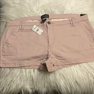 Express Low Rise Mini Shorts